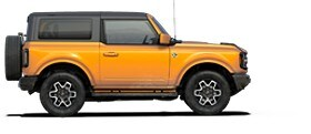 Ford Bronco Outer Banks 2021 en orange cyber