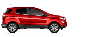 Ford EcoSport 2021 en rouge course