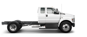 Ford F 6 50 2022 en blanc Oxford